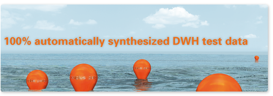 100% automatically synthesized DWH test data